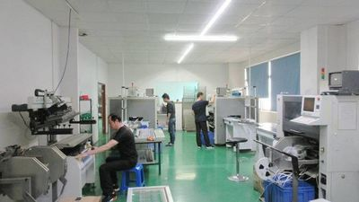 Zhongshan Julang Electric Lighting Company Limited Fabrik Produktionslinie